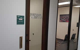 Johnson and Bryan Office Pic