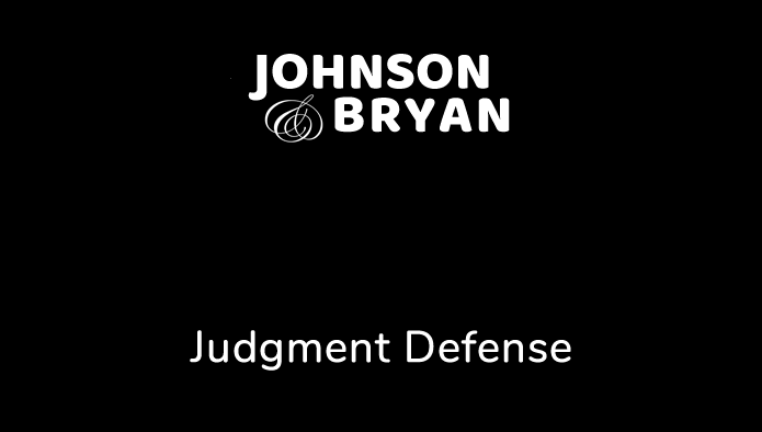 Judgment Defense Video Overlay